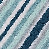 Quick Dry Striped Bath & Pedestal Mats, DUCK EGG, swatch
