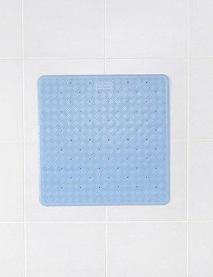 Shower Mat, BLUE, catlanding