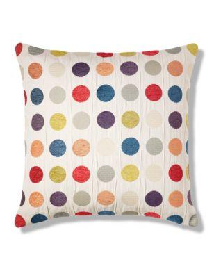 multi spotted cushion m s. Black Bedroom Furniture Sets. Home Design Ideas