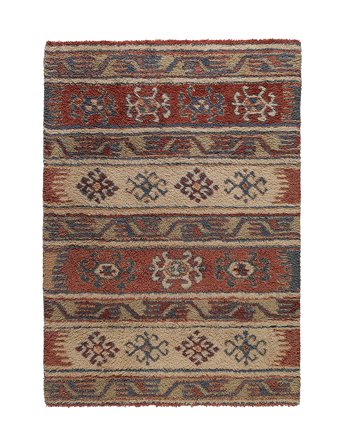 anatolian tribal print rug   m&s