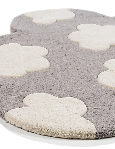 Cloud Shaped Rug Home Mouse Over To Zoom