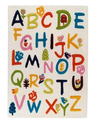 Alphabet Rug MS. Alphabet rug