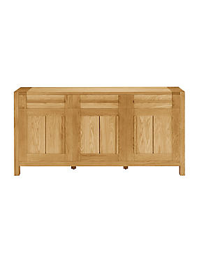 Sonoma Light 3-Door Sideboard