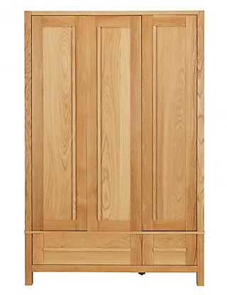 Sonoma Light Triple Wardrobe Furniture