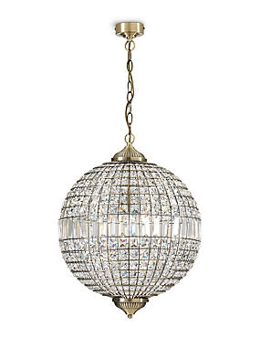 Gem Ball XL Ceiling Pendant, , catlanding
