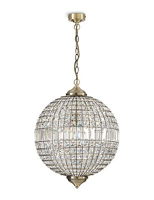 Gem Ball XL Ceiling Pendant, , catlanding