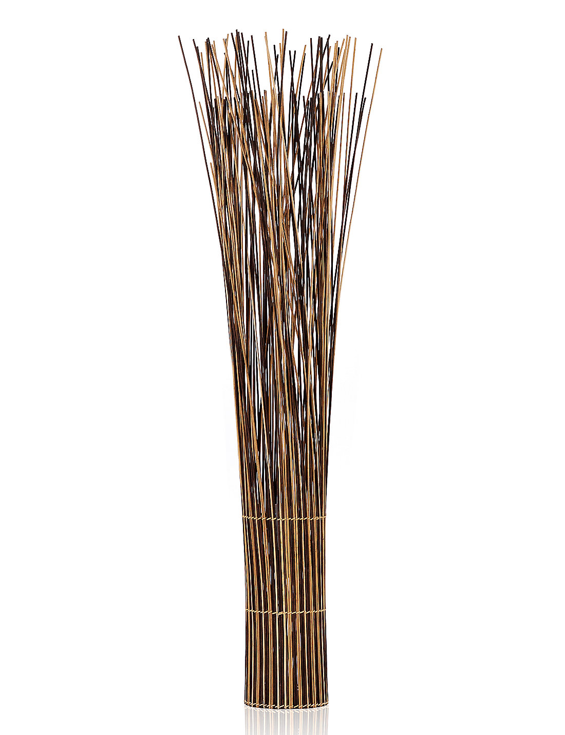 Twig Lamp mixed rattan twig floor lamp | m&s