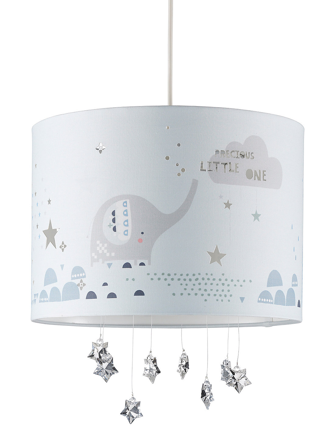 Elephant Shade Ceiling Light