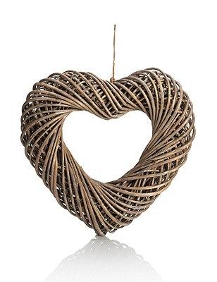 Large Wicker Heart, , catlanding