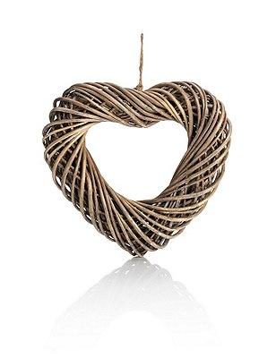 Small Wicker Heart, , catlanding