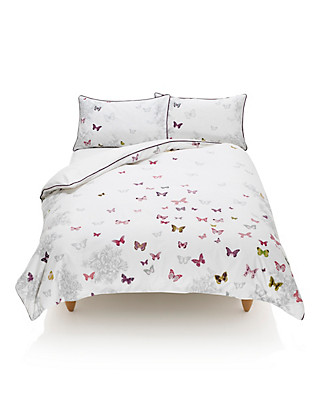 Butterfly Print Bedding Set Home