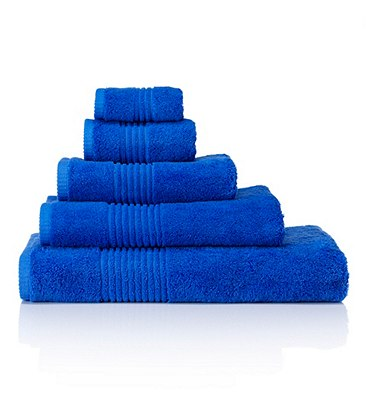 Luxury Egyptian Towel, ROYAL BLUE, catlanding