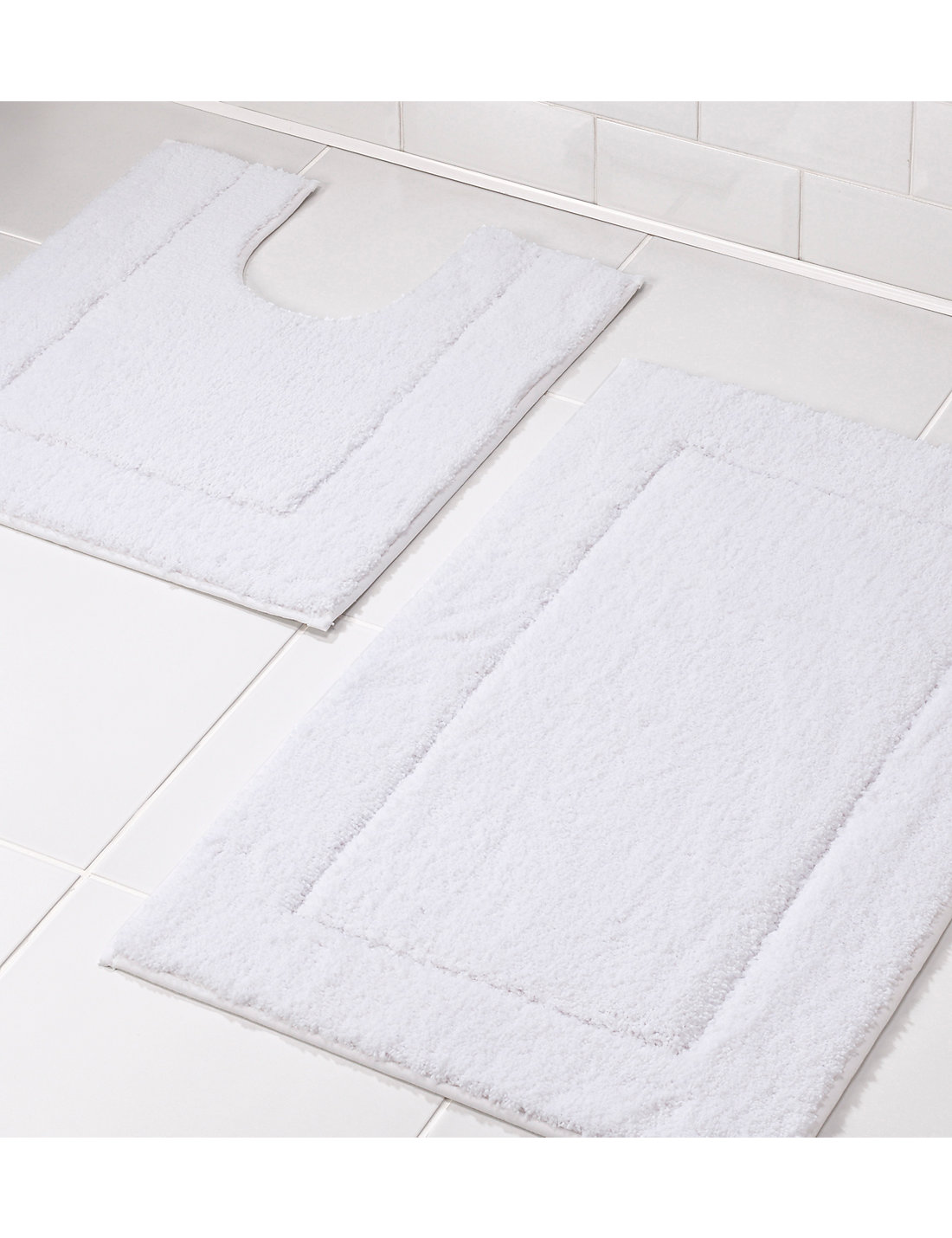Very large bath rugs search - Quick Dry Bath Pedestal Mats
