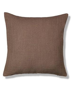 Bantry Weave Cushion, MOCHA, catlanding