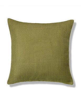 Bantry Weave Cushion, CHARTREUSE, catlanding