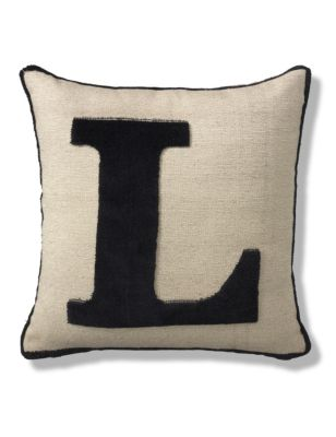Letter l cushion ms for Letter m cushion