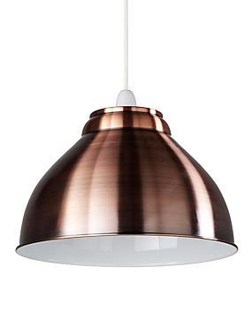 New Retro Ceiling Lamp Shade, COPPER, catlanding
