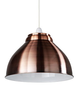New Retro Ceiling Lamp Shade, COPPER, catlanding