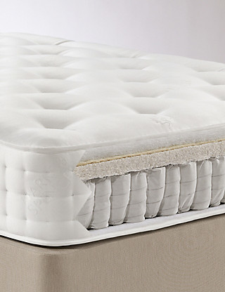 Natural 1250 Mattress - Firm Support Fu