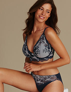 Artisan Lace Set with Plunge DD-GG, , catlanding