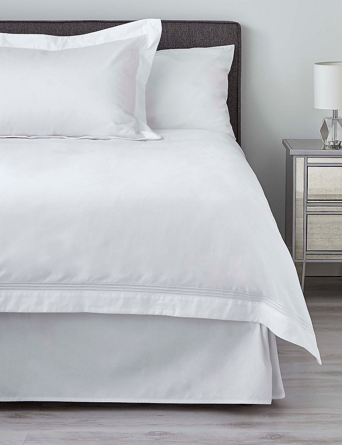 Plain Bedding | Cotton Double \u0026 Single White Bedding | M\u0026S
