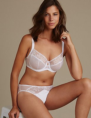 Arelia Lace Set with Non Padded Balcony DD-GG, , catlanding