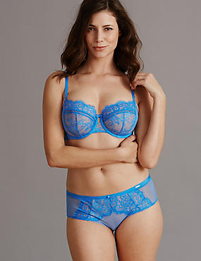 Dentelle Lace Set with Non Padded Balcony DD-G, , catlanding