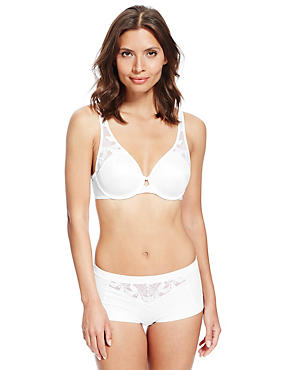 Hibiscus Set with Smoothing Underwired Full Cup B-DD, , catlanding