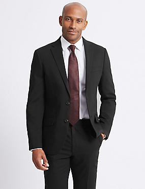 Black Slim Fit Suit, , catlanding