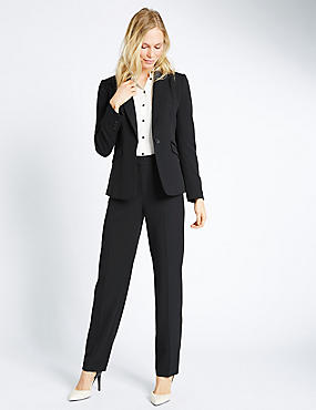 Trim Detail Suit, , catlanding