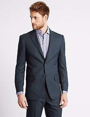Big & Tall Indigo Regular Fit Suit, , catlanding