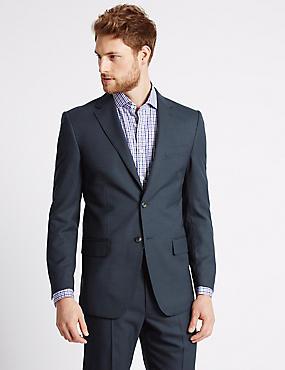 Big & Tall Indigo Regular Fit Suit, , catlanding