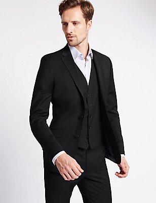 Charcoal Slim Fit 3 Piece Suit, , catlanding