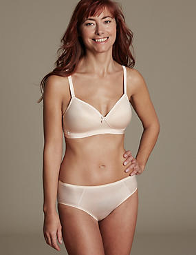 Sumptuously Soft Set with Non-Wired Full Cup A-E