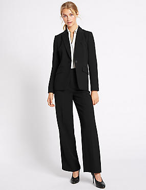 Crepe Jacket & Trousers Set, , catlanding