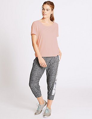 Active T-Shirt & Printed Joggers Set, , catlanding