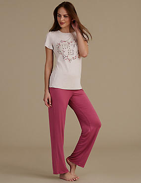 Pyjama à manches courtes, , catlanding