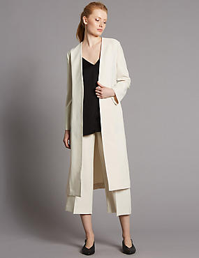 Longline Jacket & Trousers Set, , catlanding