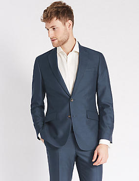 Indigo Regular Fit Suit, , catlanding