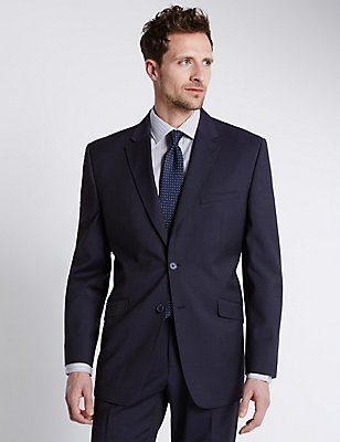 Indigo Regular Fit Suit, , catlanding