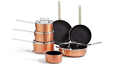 LOFT Copper Effect Cooking Range , , catlanding