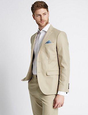 Neutral Tailored Fit Suit, , catlanding