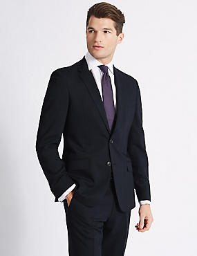 Navy Slim Fit Suit, , catlanding
