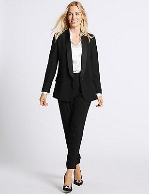 Tuxedo Blazer & Trousers Set, , catlanding