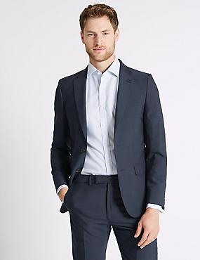 Indigo Slim Fit Suit, , catlanding
