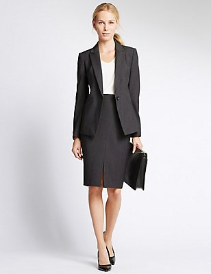 Welt Pockets Suit, , catlanding