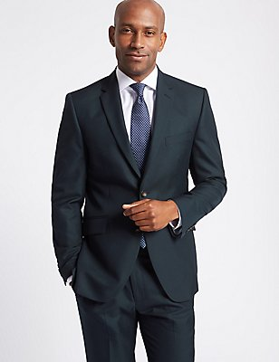 Big & Tall Navy Tailored Fit Suit, , catlanding