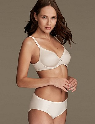 Sumptuously Soft Set with Full Cup T-Shirt A-DD, , catlanding