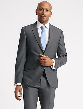 Grey Tailored Fit Suit, , catlanding