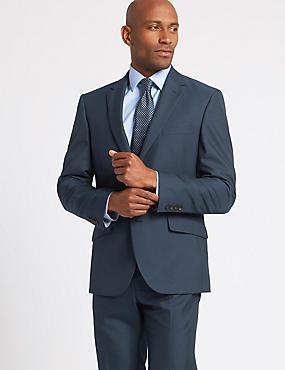 Big & Tall Indigo Tailored Fit Suit, , catlanding